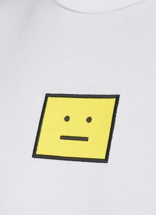 - ACNE STUDIOS - Face Logo Print Cotton T-shirt