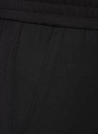 - SOLID HOMME - Elastic Waist Cuff Slit Pants