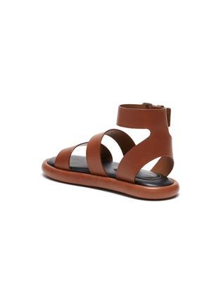 - PROENZA SCHOULER - Double Strap Leather Sandals