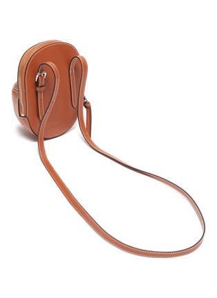 Detail View - Click To Enlarge - JW ANDERSON - 'Midi Cap' leather crossbody bag