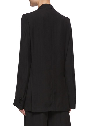Back View - Click To Enlarge - PETAR PETROV - Isabel' Single Breasted Blazer