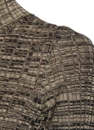 - PETAR PETROV - 'Electra' mottle silk knit bodycon dress