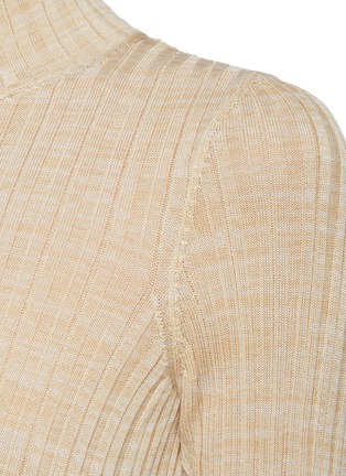 - PETAR PETROV - 'Ema' rib knit short sleeve top