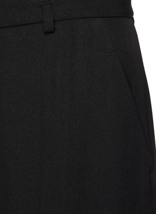 - PETAR PETROV - Geneva' Cropped Wide Legged Culottes