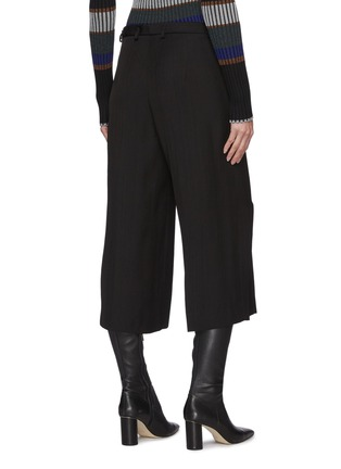 Back View - Click To Enlarge - PETAR PETROV - Geneva' Cropped Wide Legged Culottes