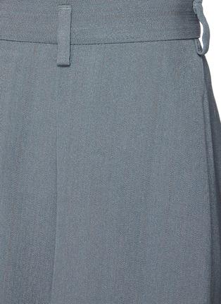 - PETAR PETROV - Garcia' Centre Pleat Wide Leg Shorts
