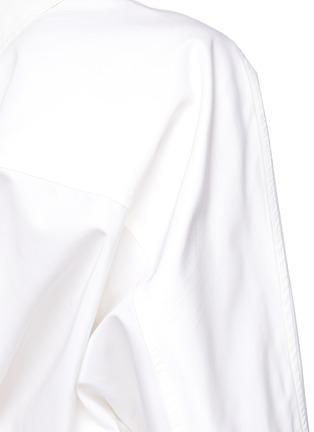 - PETAR PETROV - 'Aaber' off shoulder asymmetric hem dress
