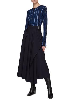 Figure View - Click To Enlarge - PROENZA SCHOULER - Tie Dye Long Sleeves T-shirt