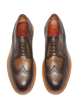 Detail View - Click To Enlarge - MAGNANNI - Rounded Natural Derby