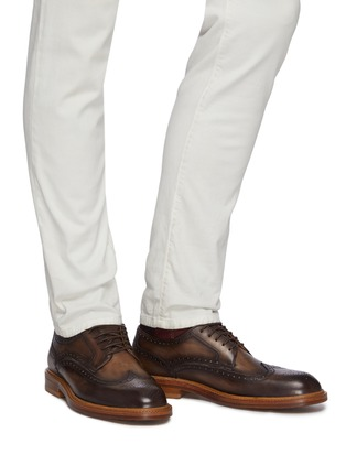 Figure View - Click To Enlarge - MAGNANNI - Rounded Natural Derby