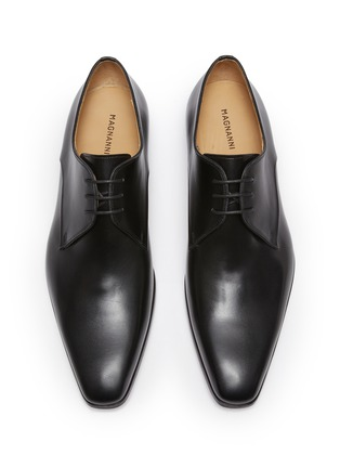 Detail View - Click To Enlarge - MAGNANNI - 3-eye Leather Derby Shoes