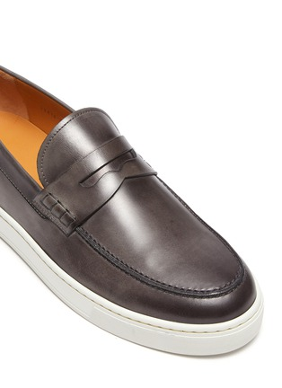 Detail View - Click To Enlarge - MAGNANNI - Opanca Cap Sole Penny Loafer
