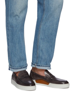 Figure View - Click To Enlarge - MAGNANNI - Opanca Cap Sole Penny Loafer
