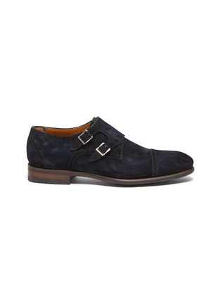 Main View - Click To Enlarge - MAGNANNI - Suede Double Monk