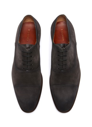 Detail View - Click To Enlarge - MAGNANNI - Suede Toe Cap Oxford