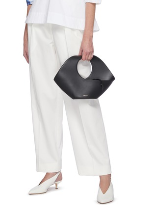 Figure View - Click To Enlarge - NEOUS - 'Jupiter' sculptured leather tote