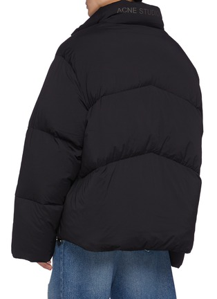Back View - Click To Enlarge - ACNE STUDIOS - Ondino Matte Snap Closure Puffer Jacket