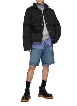 Figure View - Click To Enlarge - ACNE STUDIOS - Ondino Matte Snap Closure Puffer Jacket