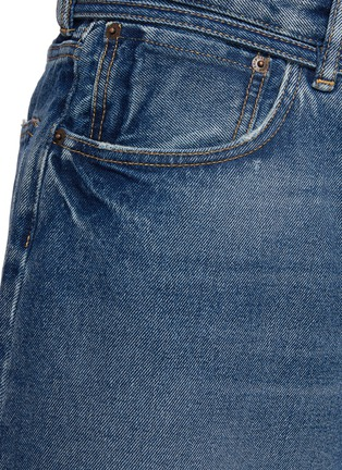 - ACNE STUDIOS - Belted Whiskered Denim Shorts
