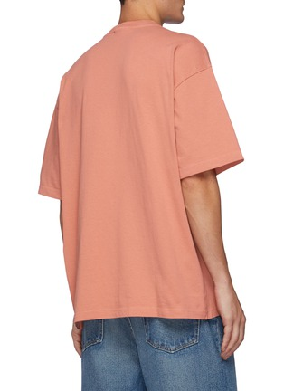 Back View - Click To Enlarge - ACNE STUDIOS - Logo Embroidery T-shirt