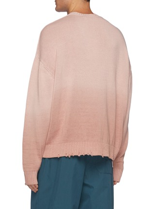 Back View - Click To Enlarge - ACNE STUDIOS - Soft Dip-dyed Gradient Cardigan