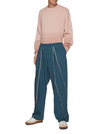 Figure View - Click To Enlarge - ACNE STUDIOS - Soft Dip-dyed Gradient Cardigan