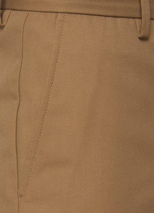 - ACNE STUDIOS - Ayonne' Cotton Blend Twill Slim Pants