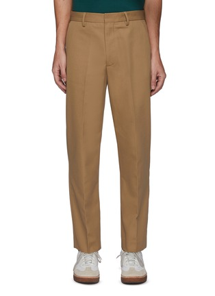 Main View - Click To Enlarge - ACNE STUDIOS - Ayonne' Cotton Blend Twill Slim Pants