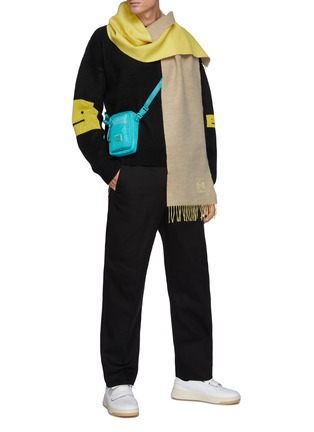 Figure View - Click To Enlarge - ACNE STUDIOS - Twill Casual Pants