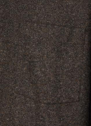 - ACNE STUDIOS - Donegal Wool Blend Shirt