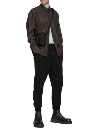 Figure View - Click To Enlarge - ACNE STUDIOS - Donegal Wool Blend Shirt