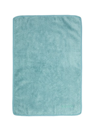 Main View - Click To Enlarge - FRETTE - Unito Hand Towel – Turquoise