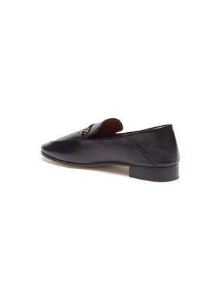 - PEDDER RED - 'Rex' Round Toe Leather Horsebit Loafers