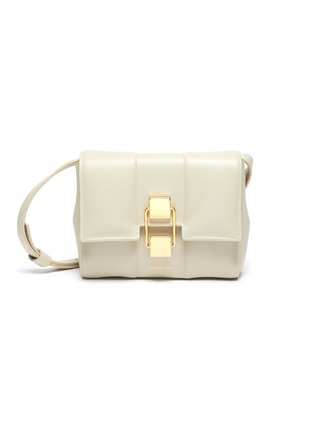 Main View - Click To Enlarge - DEMELLIER - 'Mini Alexandria' padded soft leather crossbody bag