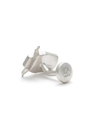 Detail View - Click To Enlarge - BABETTE WASSERMAN - Origami Yoda Cufflinks