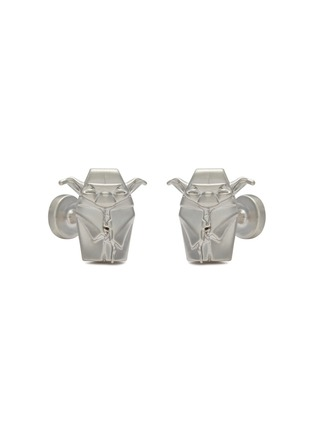 Main View - Click To Enlarge - BABETTE WASSERMAN - Origami Yoda Cufflinks