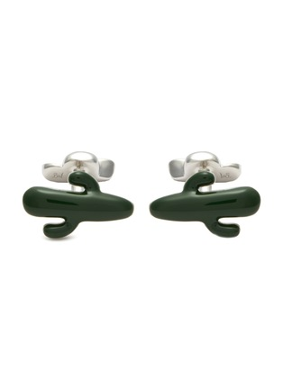 Main View - Click To Enlarge - BABETTE WASSERMAN - Cactus and cowboy hat cufflinks