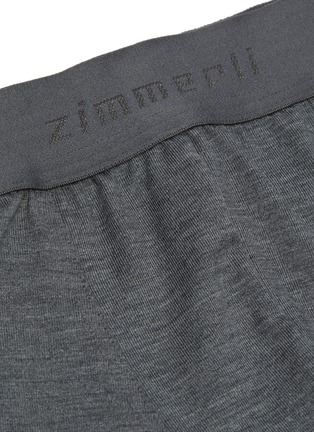 Detail View - Click To Enlarge - ZIMMERLI - Microfibre Modal Blend Boxer Briefs