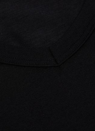 Detail View - Click To Enlarge - ZIMMERLI - V-neck Microfibre Modal Blend Undershirt