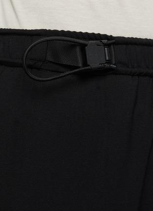 - WOOYOUNGMI - Adjustable Elastic Waist Sweatpants With Leg Pockets