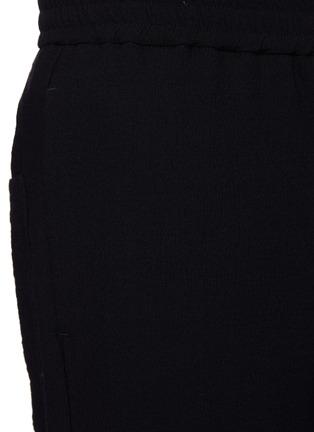 - BARENA - 'BATIVOGA MARENGO' Elastic Waist Wide Leg Pants