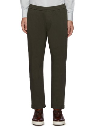 Main View - Click To Enlarge - BARENA - 'Bativoga Stino' Elastic Waist Wide Leg Pants