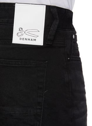 - DENHAM - 'Noos Razor' Slim Fit Whiskered Denim Jeans