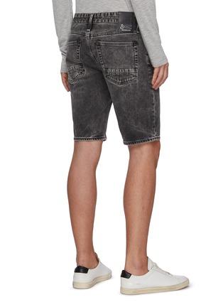 Back View - Click To Enlarge - DENHAM - 'Razor' washed denim shorts