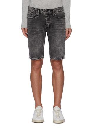 Main View - Click To Enlarge - DENHAM - 'Razor' washed denim shorts