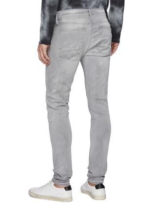 Back View - Click To Enlarge - DENHAM - 'Bolt' light wash skinny jeans