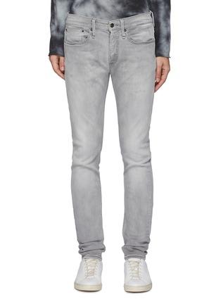 Main View - Click To Enlarge - DENHAM - 'Bolt' light wash skinny jeans