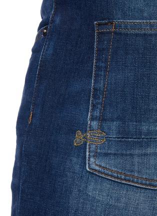 - DENHAM - 'Noos Bolt' Slim Fit Whiskered Denim Jeans