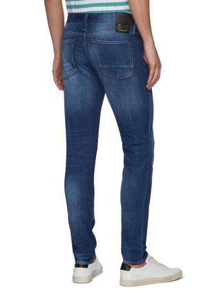Back View - Click To Enlarge - DENHAM - 'Noos Bolt' Slim Fit Whiskered Denim Jeans