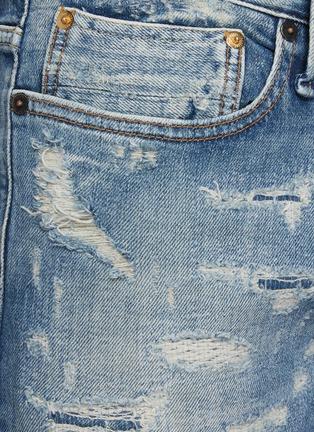 - DENHAM - 'Razor' 8 years SELVEDGE denim slim distressed jeans